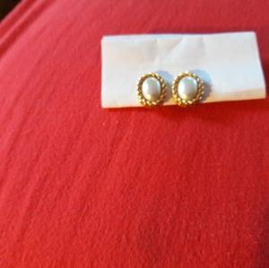 Dior Pearl Clip Earrings, PlZ READ